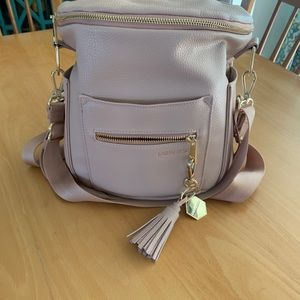 Fawn design mini backpack in blush